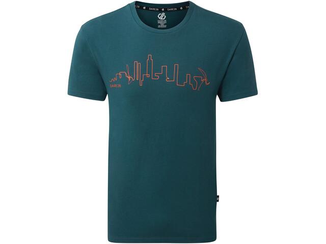 Dare 2b Divide T-shirt Homme, majolica blue